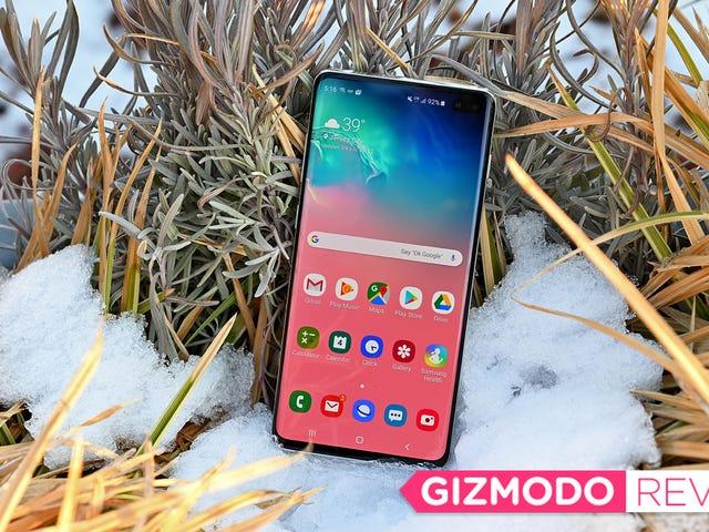 Samsung Galaxy S10 Review: En Android Champ at blive spændt om