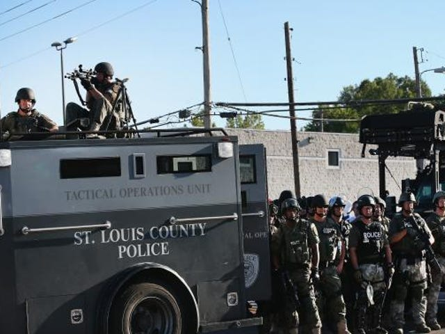Ferguson: Police Are 'Preparing for War, and We're Preparing for Our Safety'