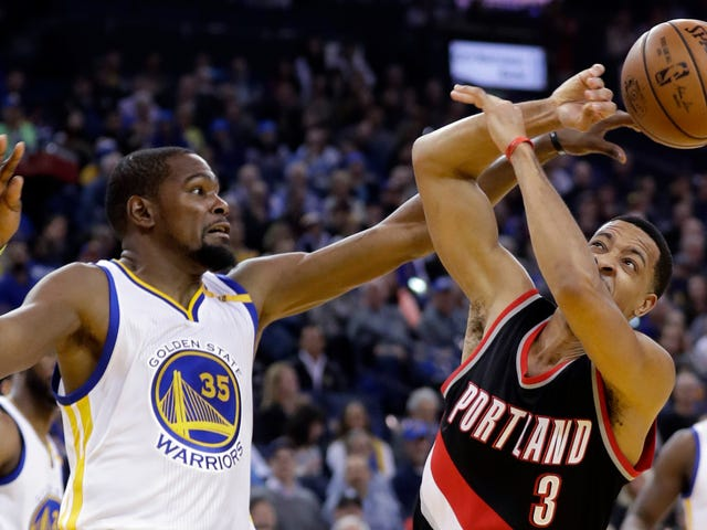 C.J. McCollum Got Tormented By Kevin Durant On His Own Podcast