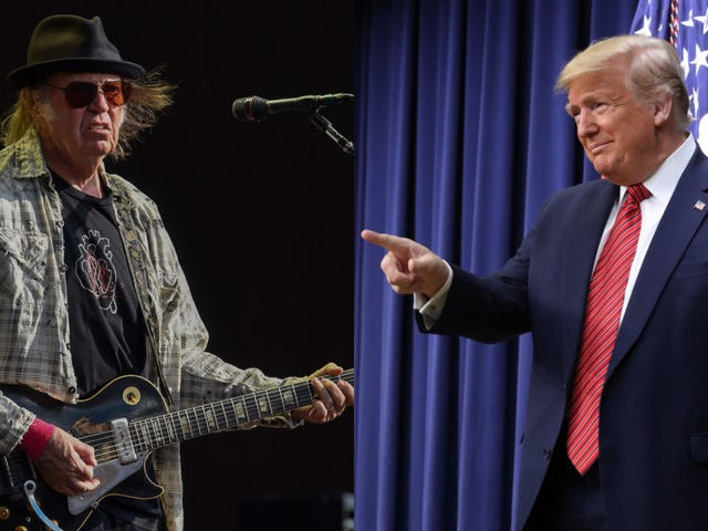 Neil Young fan Donald Trump won't be happy to read Neil Young's open letter bashing him