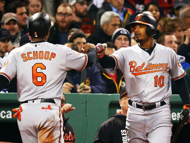 Baltimore Orioles' Adam Jones Called N-Word, Hit With Peanuts at Fenway Park