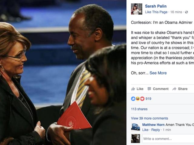 Sarah Palin Got Me Like😂