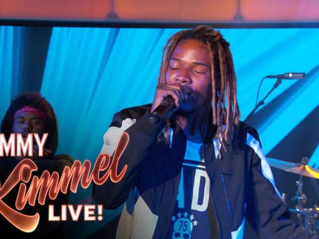 Fetty Wap ottaa laulunsa Summer Trap <i>Jimmy Kimmel</i>