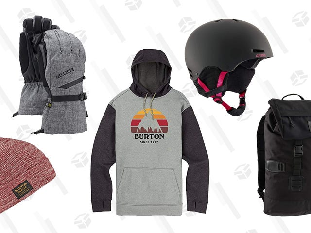 Gear Up For Cold Weather with Today's Burton Gold Box