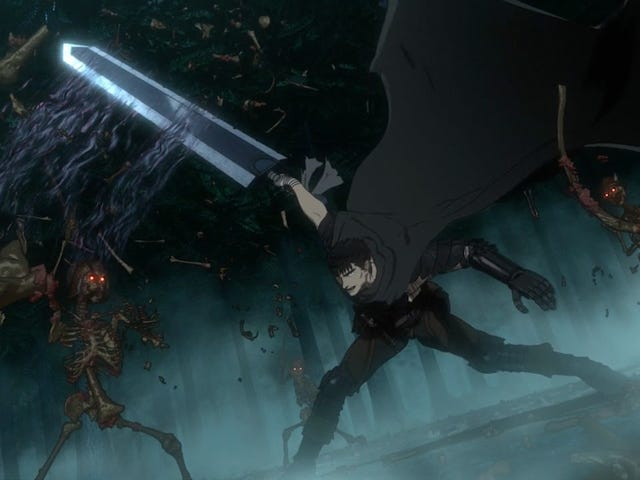 Here's the English Cast of the New Berserk Anime