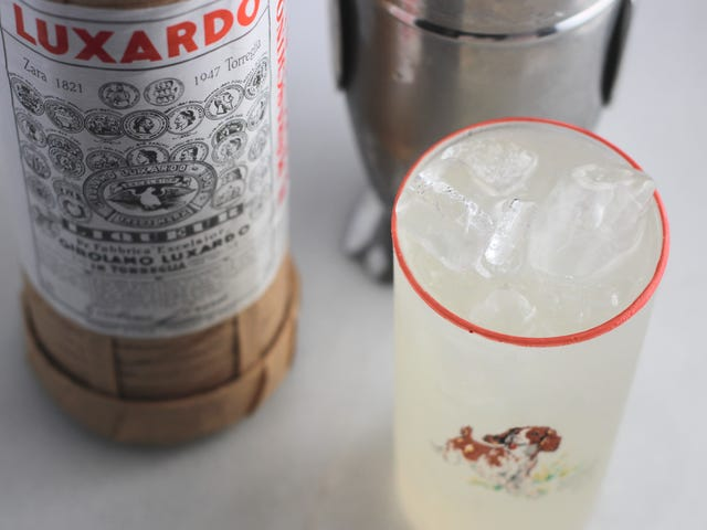 Make a Sophisticated Cherry Lemonade With Maraschino Liqueur