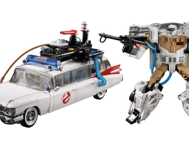 Transformers Meets Ghostbusters in This Totally Tubular '80s Toy Mashup <em></em>