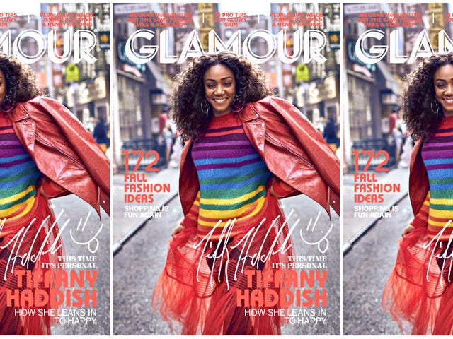 She's So Colorful: Tiffany Haddish Covers Glamour's September Issue!