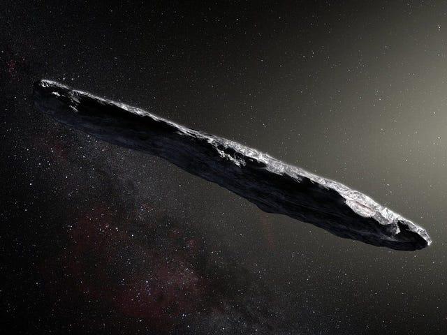 Los asteroides interestelares como 'Oumuamua podrían reescribir los orígenes de la vida en la Tierra