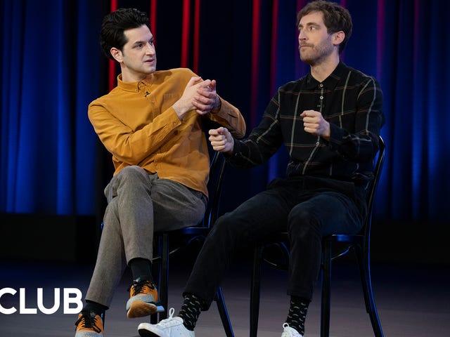 Thomas Middleditch e Ben Schwartz sulla gioia di scherzi e trucchi