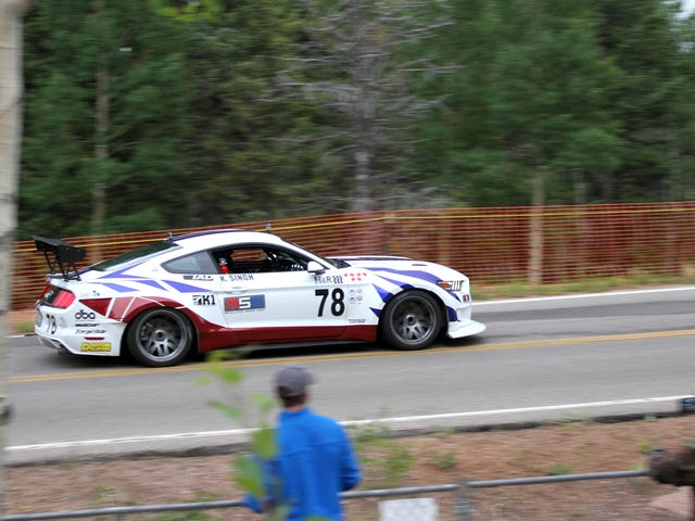 The Absurd Things People Do to Just Get One Shot to Race Up Pikes Peak
