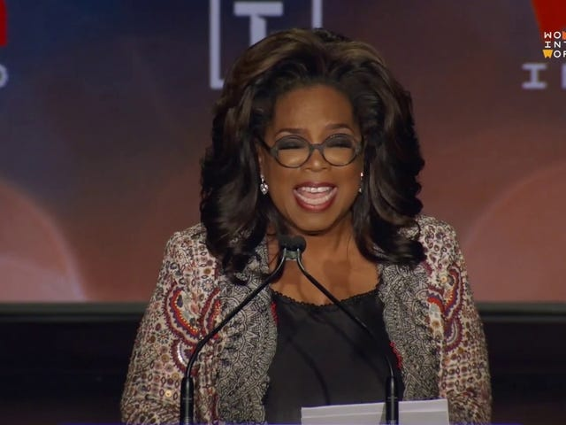 'Save Yourself': Oprah Joins Stacey Abrams, Mae Jemison and More at the 10th Annual Women in the World Summit