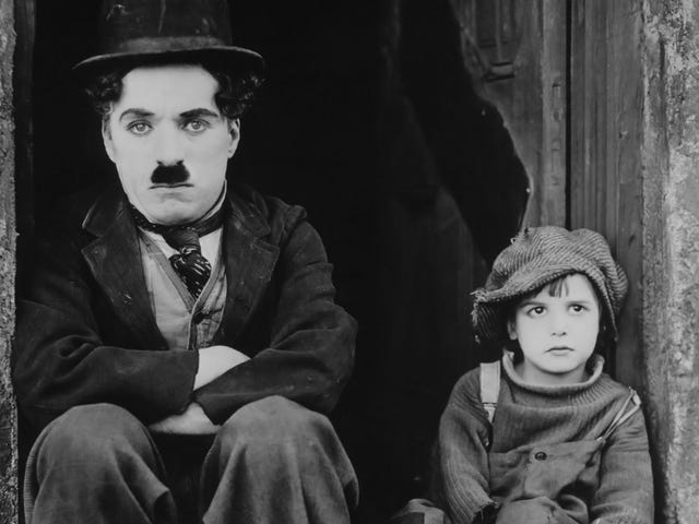Charlie Chaplin's The Kid Is Getting a Bizarre Dystopian Remake Where Chaplin Is a Robot