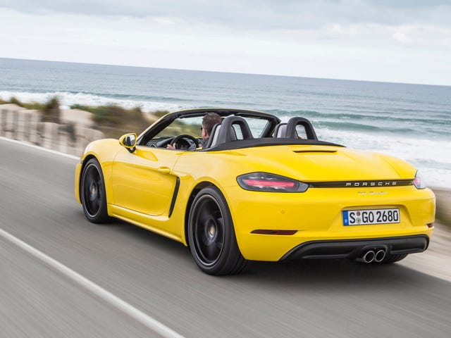 All-Electric Porsche 718 Boxsters ja Caymans saapuvat 2022: Raportti