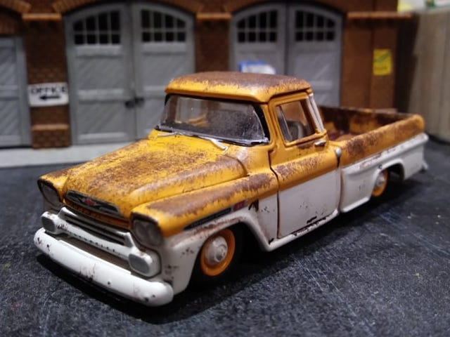 More rust.