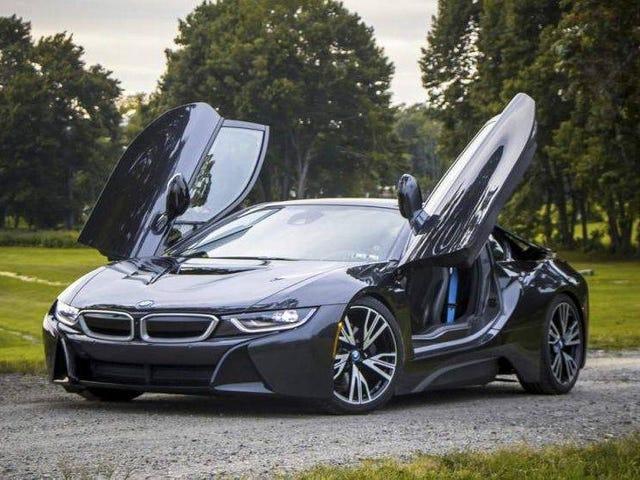 Zou je bij $ 63.750 Hyped over deze 2014 BMW i8 hybride kunnen krijgen?