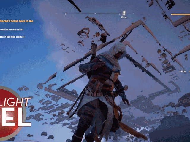 Karakter <i>Assassin's Creed</i> Meleleh Menjadi Mimpi Buruk