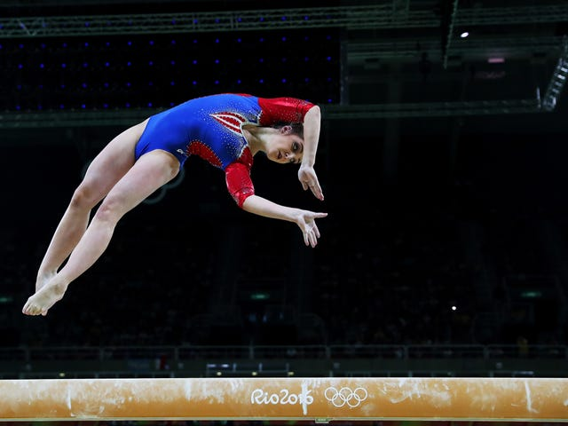 Idiots Are Giving Aliya Mustafina So Much Shit For Returning To Competition After Having A Baby