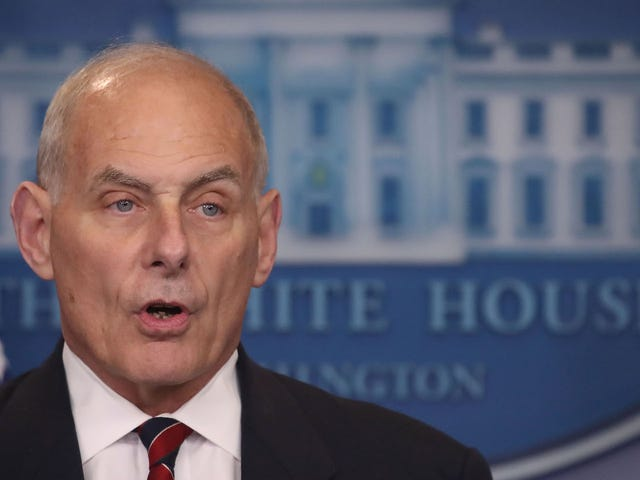 John Kelly Could Resign as White House Chief of Staff In Wake of Allegations Against Rob Porter