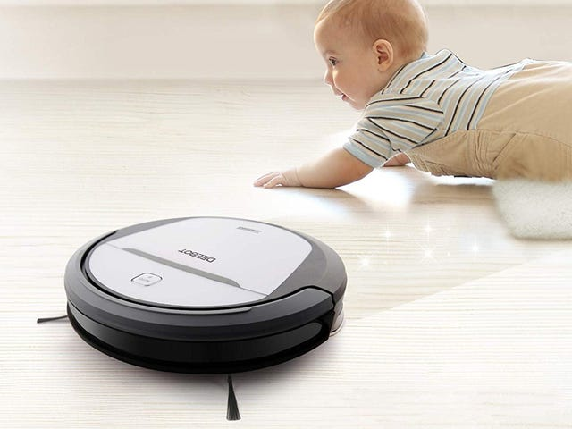 """<a href=""""https://kinjadeals.theinventory.com/this-200-robotic-vacuum-is-also-a-mop-1825742829"""" data-id="""""""" onClick=""""window.ga('send', 'event', 'Permalink page click', 'Permalink page click - post header', 'standard');"""">This $200 Robotic Vacuum Is Also a Mop</a>"""