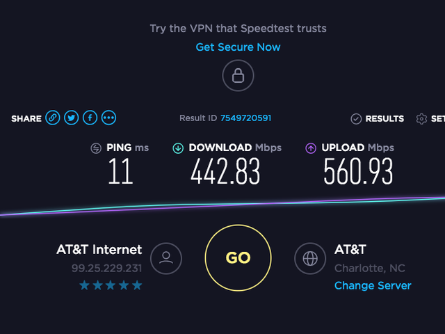 My internet was out most of the weekend