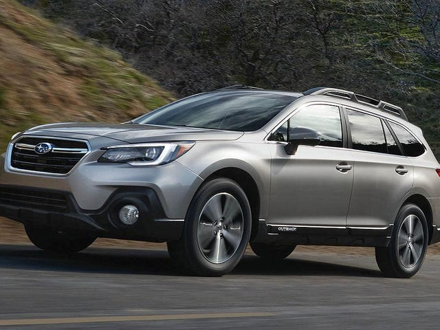 The 2018 Subaru Outback Gets Updated Styling Adds Apple CarPlay And Android Auto