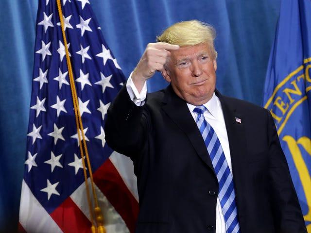 Başkan Trump Geçtiğimiz Gece Oldu Twitter Trolling CNN
