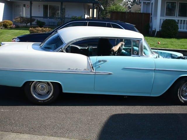 1955 Chevy Bel Air Projekt Update - es bewegt sich!