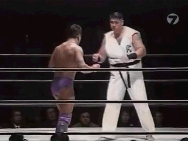The World's Greatest Fighter Was A Pro Wrestler Who Couldn't Fight