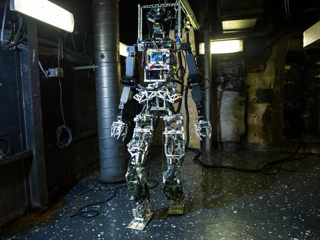 The Navy Wants To Fight Future Fires With This Gangly Android