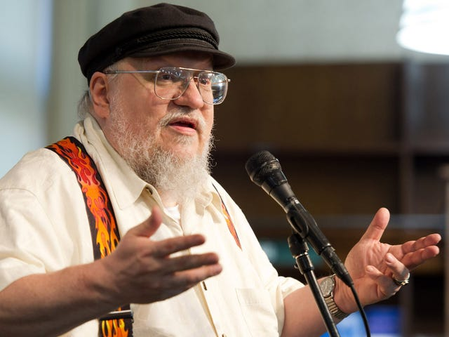 GRRM On <i>Game Of Thrones</i>: I Don't Have Time To Watch <i>Game Of Thrones</i>