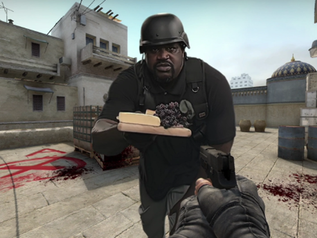 Shaq Is Shilling <i>Counter-Strike</i> Now