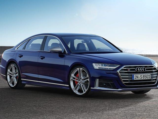 Το 2020 Audi S8 είναι εδώ με ένα 563-HP V8 και υβριδική τεχνολογία