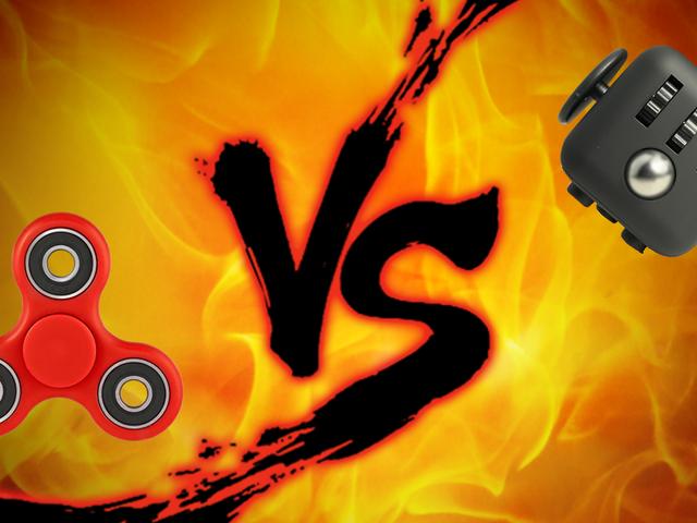 Вскрытие непоседы: Fidget Spinner vs. Fidget Cube