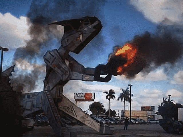 Robosaurus 'Menghancurkan Kereta Bernafas' Bergabung dengan Texas IndyCar Weekend