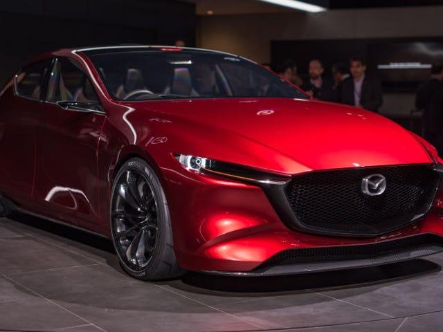 Mazda trabja in a motor of gasolina que será tan limpio from coche eléctrico