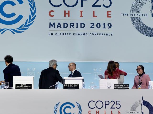 FNs klimatoppmøte avsluttes med et klynk