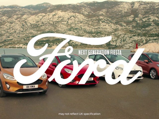 New Ford Fiesta adverts.