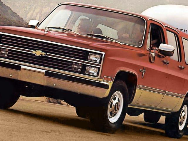 Cómo el Chevy Suburban de 1986 era mejor que el actual