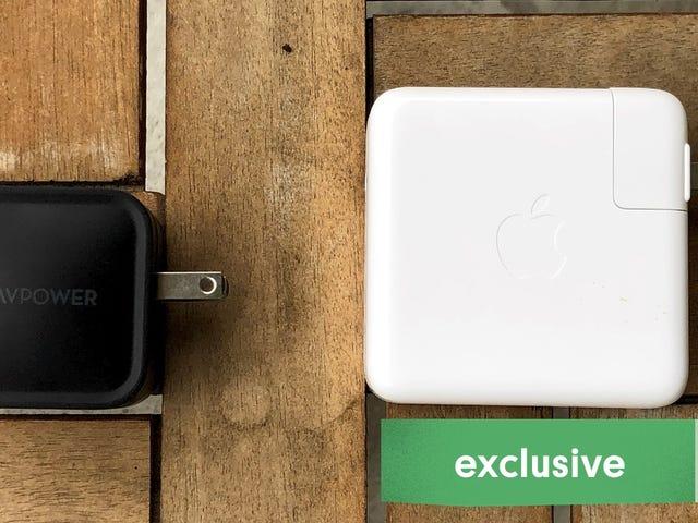 เปลี่ยนเครื่องชาร์จ MacBook Pro ของคุณด้วยทางเลือกเล็ก ๆ ที่ทรงพลังของ RAVPower