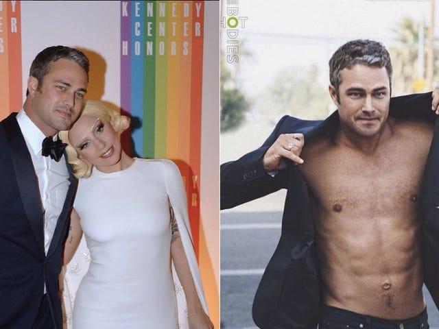 Lady Gaga est fiancée à l'acteur qui fume Taylor Kinney