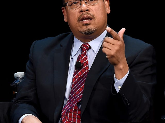 Keith Ellison Makes It Official: He Wants to Chair Democratic National Committee