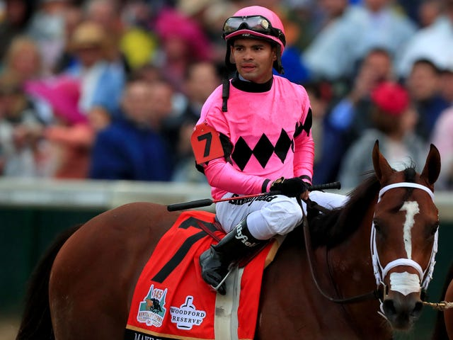 "Disqualified Kentucky Derby Jockey Hit With Suspension For ""Failure to Control the Mount"""