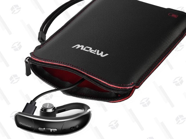 This $10 Headphone Case Includes a Battery To Recharge Your 'Buds