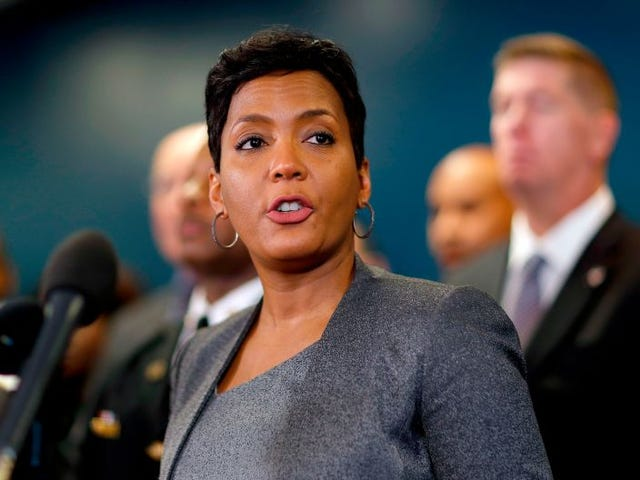 Atlanta Mayor Sends Message to Trump That She Won't Allow ICE Detainees to Be Housed in City's Jails