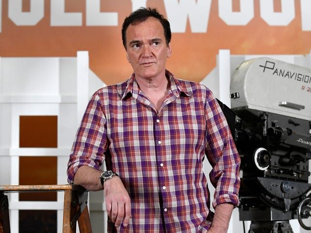 Quentin Tarantino just might go out on a Star Trek movie