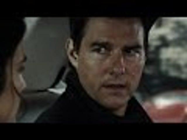 톰 크루즈와 코비 스멀 더스가 Jack Reacher: Never Go Back 에서 Jack Reacher: Never Go Back