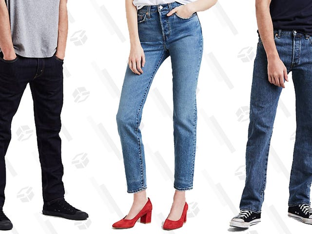 Lean In to New Jeans at Levi's End of Season Sale