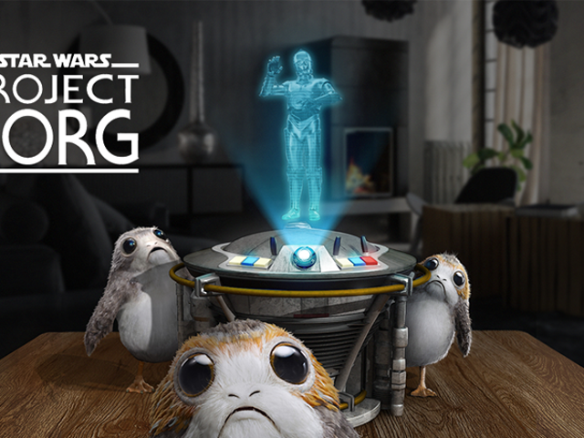 ILMxLab's Next Augmented Reality Experiment Is...Porgs