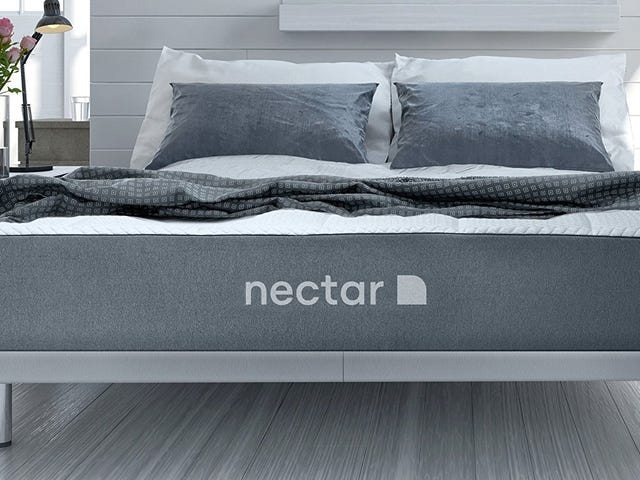 Rest Easy With This Nectar Mattress Deal, Including Free Pillows and a 180 Night Trial